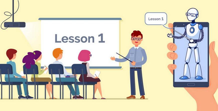 Réinventer le métier de l'enseignant grâce à l'intelligence artificielle