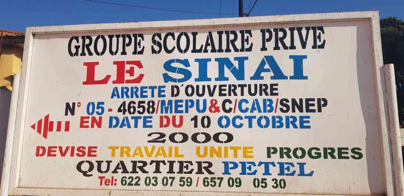 Groupe Scolaire Privé Le Sinaï