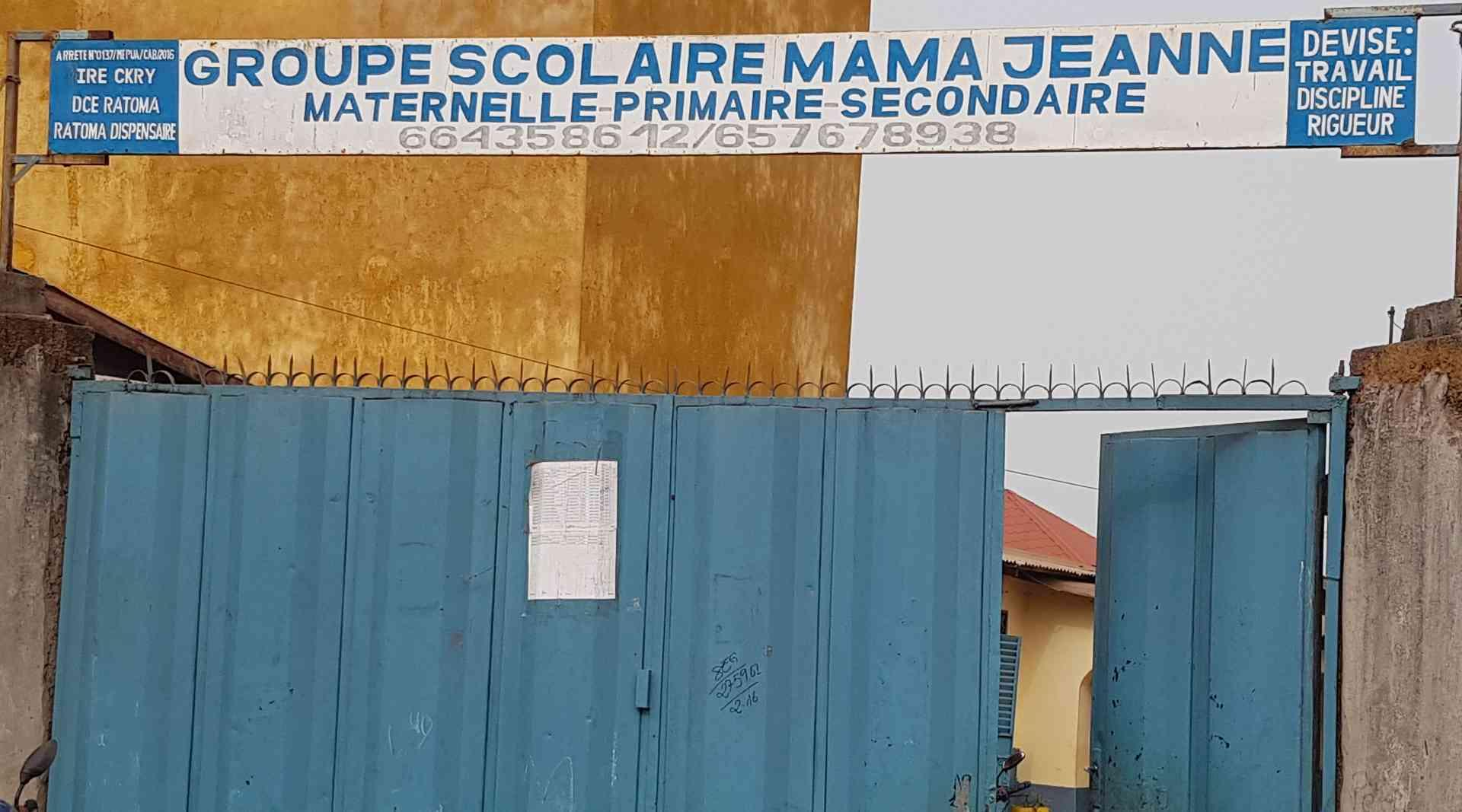 Groupe Scolaire  Maman Jeanne